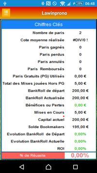 Pronostics Sportifs screenshot 3