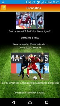 Pronostics Sportifs screenshot 2