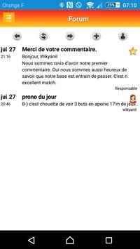Pronostics Sportifs screenshot 7