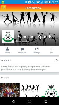 Pronostics Sportifs screenshot 5