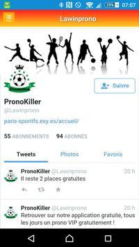 Pronostics Sportifs screenshot 6