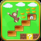 Adventures Monkey Banana Run World icon
