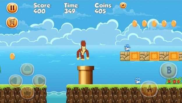 Adventures Monkey Banana Run World apk screenshot