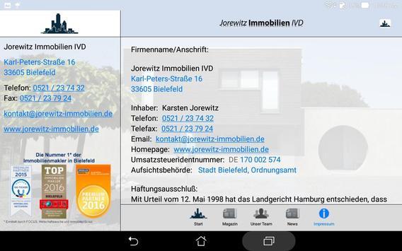 Jorewitz Immobilien IVD screenshot 21