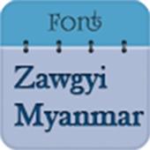 ☑️ Zawgyi Myanmar Fonts Free☑️ icon