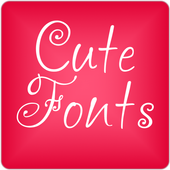 Cute Fonts for FlipFont® Free icon
