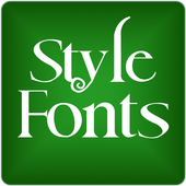 Fonts Style for FlipFont® Free icon