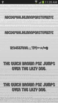 Fonts Style for FlipFont® Free poster