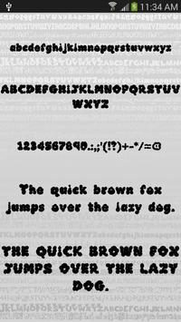 Fonts Style for FlipFont® Free screenshot 4