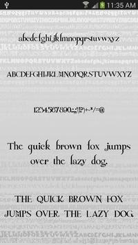 Fonts Style for FlipFont® Free apk screenshot