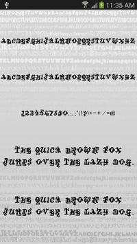 Fonts Style for FlipFont® Free screenshot 6