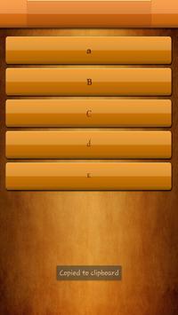Vampire Fonts for S3 screenshot 1