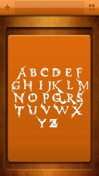 Vampire Fonts for S3 apk screenshot