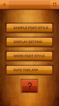 Zawgyi Design Galaxy Font poster