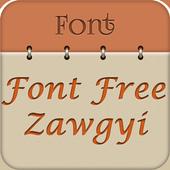Zawgyi Font Free icon