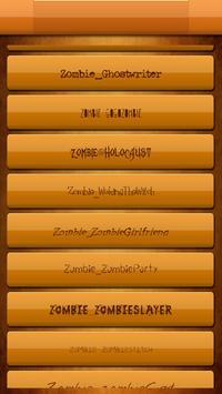 Zombie Free Fonts screenshot 1