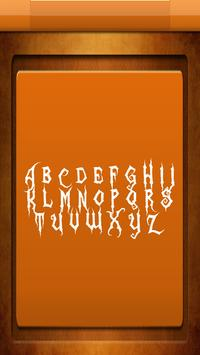 Zombie Free Fonts screenshot 3