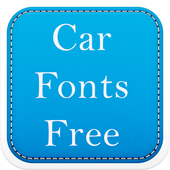 Car Fonts Free icon