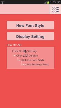 Car Fonts Free apk screenshot