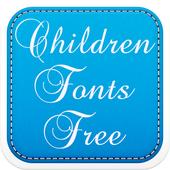 Children Fonts Free icon