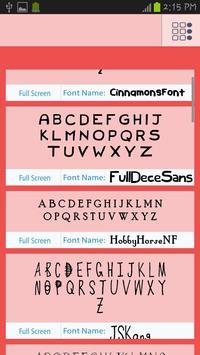 Children Fonts Free poster