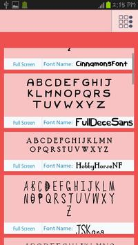 Children Fonts Free poster