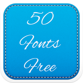 50 Fonts Free icon