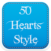 50 Hearts Fonts Style icon