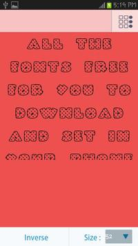 50 Hearts Fonts Style screenshot 4