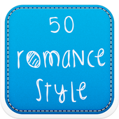 50 Romance Fonts Style icon