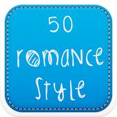 50 Romance Fonts Style icon