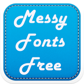 Messy Fonts Free icon