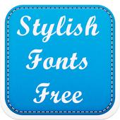 Stylish Fonts Free icon