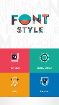 250 Font Style poster
