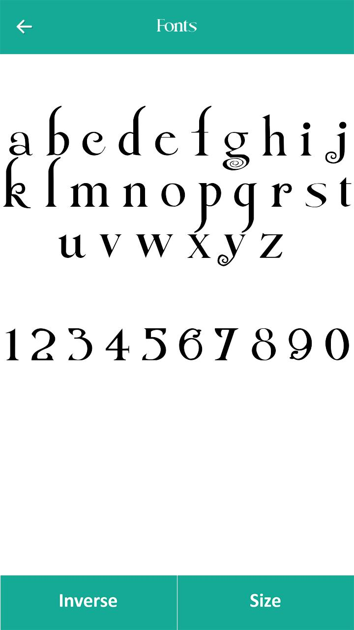 250 Font Style for Android - APK Download