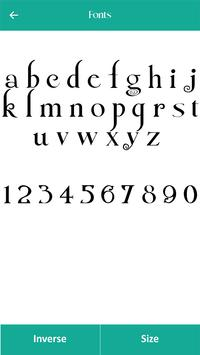250 Font Style screenshot 2