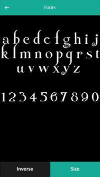 250 Font Style screenshot 3
