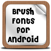 Brush Fonts for Android Zeichen