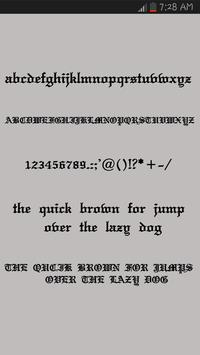 Brush Fonts for Android 포스터
