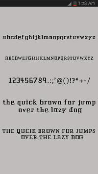 Brush Fonts for Android Screenshot 2