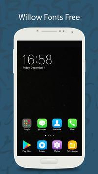 50 Willow Fonts Free screenshot 3