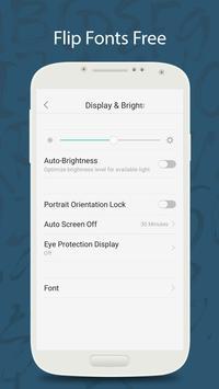 Flip Display Font
