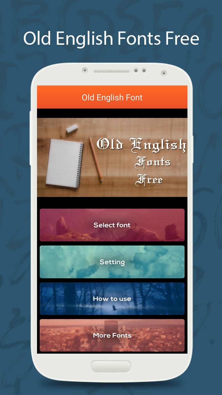 50 Old English Fonts Free for Android - APK Download