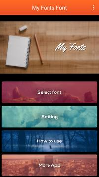 My Fonts Free poster