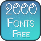 2000 Fonts Free icon