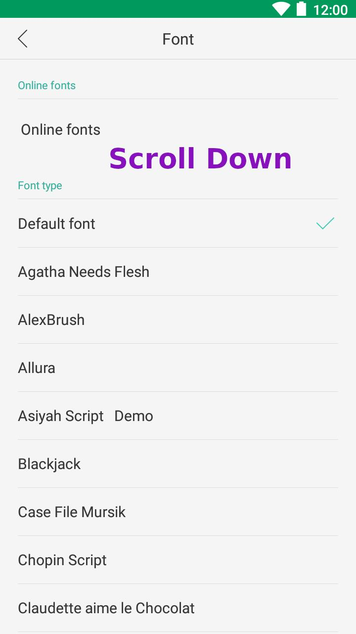 Oppo Fonts for Android - APK Download