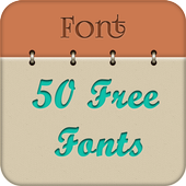 50 Fonts for Samsung Galaxy 11 icon