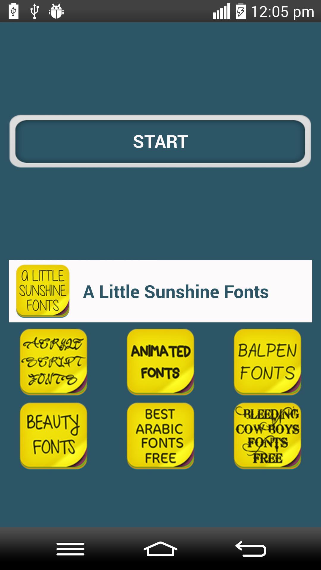 a little sunshine font free download