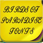 Birds of Paradise Fonts icon