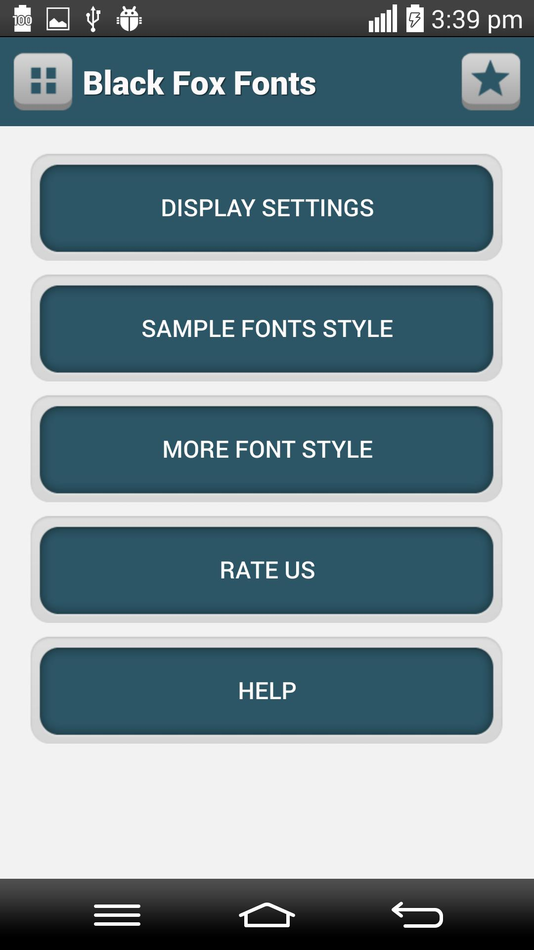 Black Fox Fonts for Android - APK Download